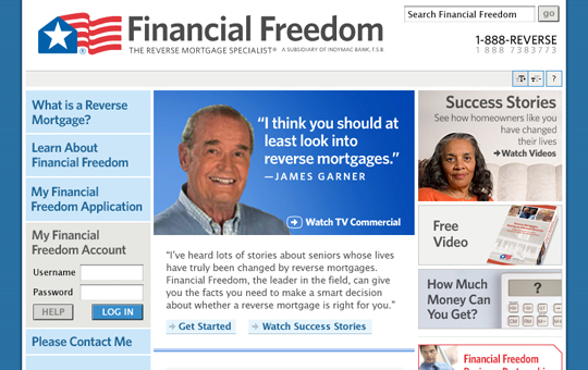 Financial Freedom Homepage